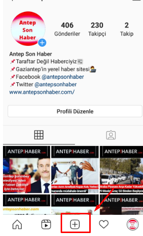 instagramda video paylasma nasil yapilir iphone