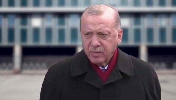 Cumhurbaşkani Erdoğan'dan Açiklamalar
