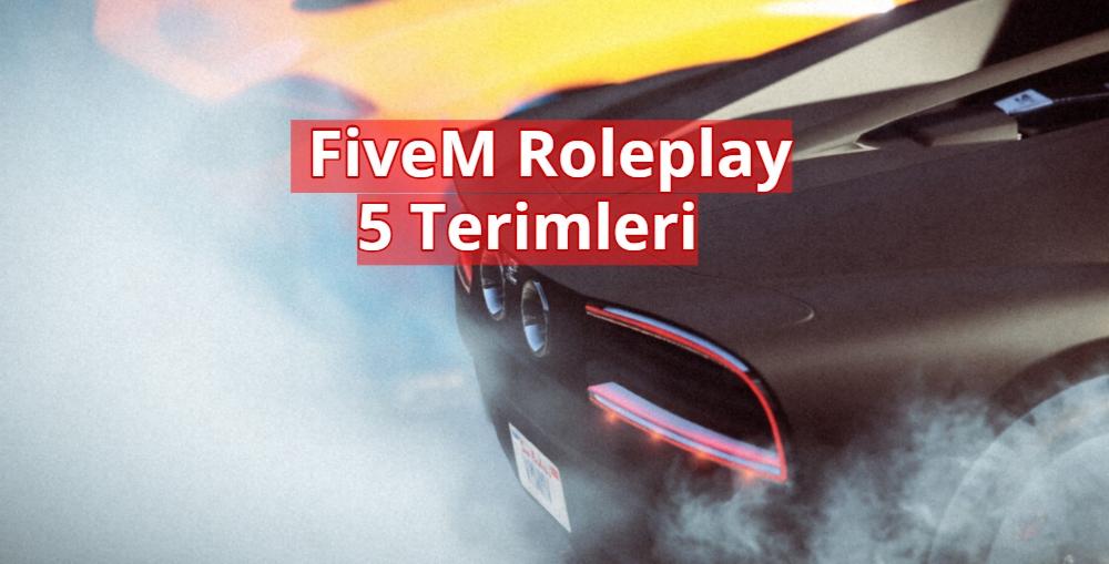 FiveM 5 Roleplay Terimleri