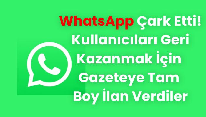 son dakika Whatsapp
