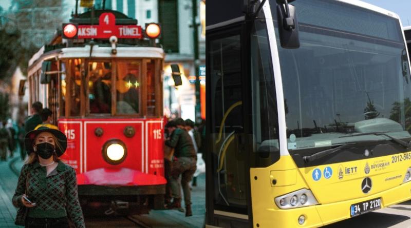 İstanbul'da toplu taşimada uygulanan yaş kisitlamasi kalkti