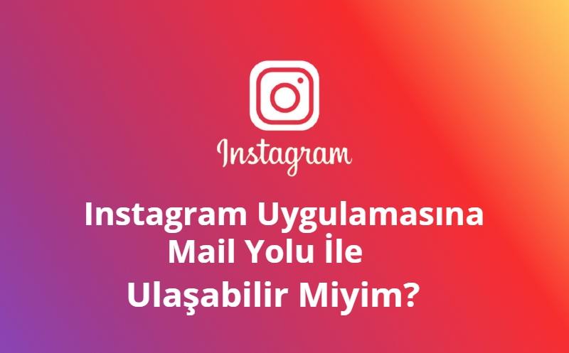 Instagram destek mail adresi