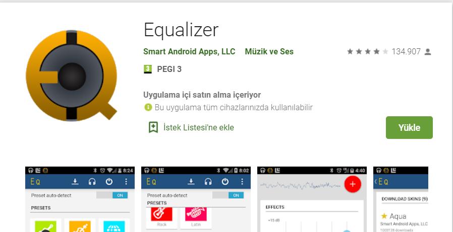 android ses yukseltme uygulamasi