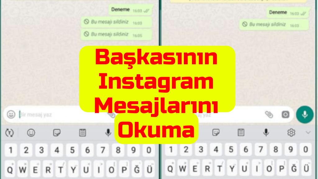 Baskasinin WhatsApp Mesajlarini Okuma